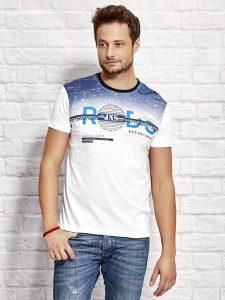 Męskie koszulki z krótkim rękawem