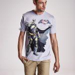 modny t-shirt męski