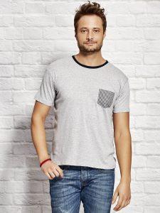 T-shirty z kieszonką