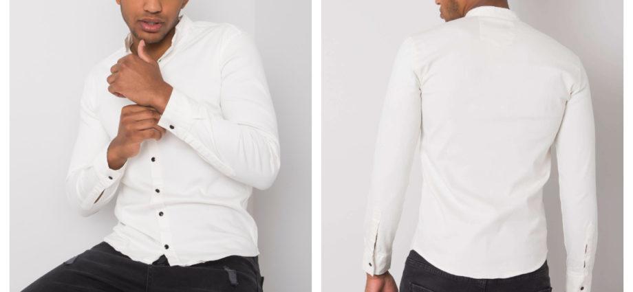 Jeansowe koszule z długim rękawem